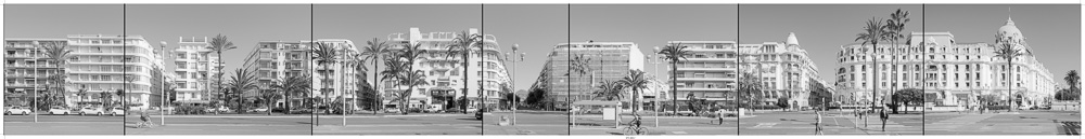 Panoramique ultra grand format pour le musée de la photographie de Nice - Olivier Monge / assemblage et tirage