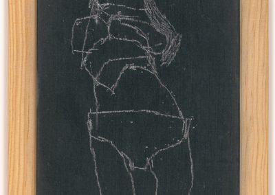 Scan dessin sur ardoise - Eliot Baldovich