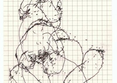 Scan dessin sur feuille - Eliot Baldovich